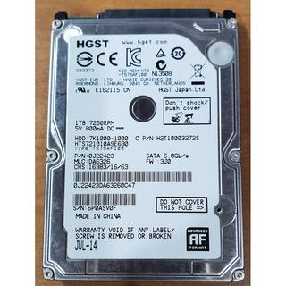 HGST(Hitachi) 7K1000 2.5吋 7200轉 1TB SATA3 硬碟 新竹市