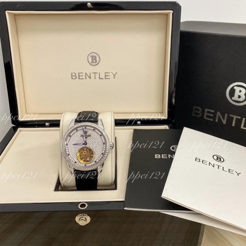 BENTLEY 賓利滿天星真鑽真陀飛輪機械錶(BL803-48441)