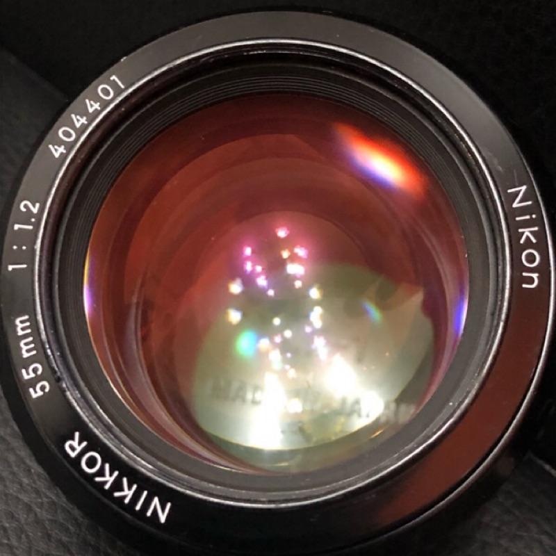 Nikon 大眼睛 ai 55mm f1.2 原生ai鏡