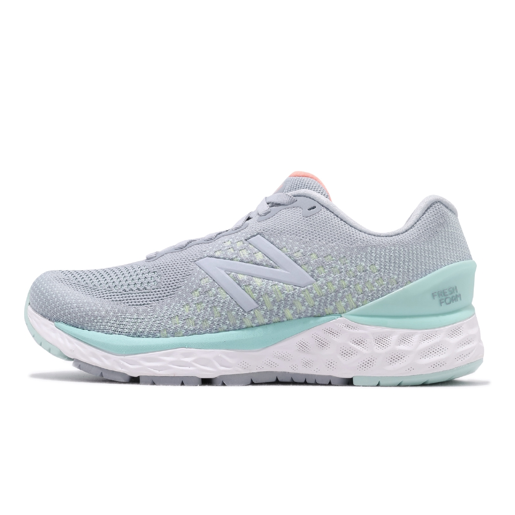 【ACS】New Balance 慢跑鞋 880v10 寬楦 灰 藍 輕量避震 女鞋 運動鞋 W880G10 D