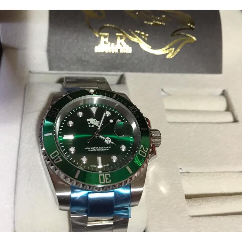 全新er綠水鬼手錶⌚️
