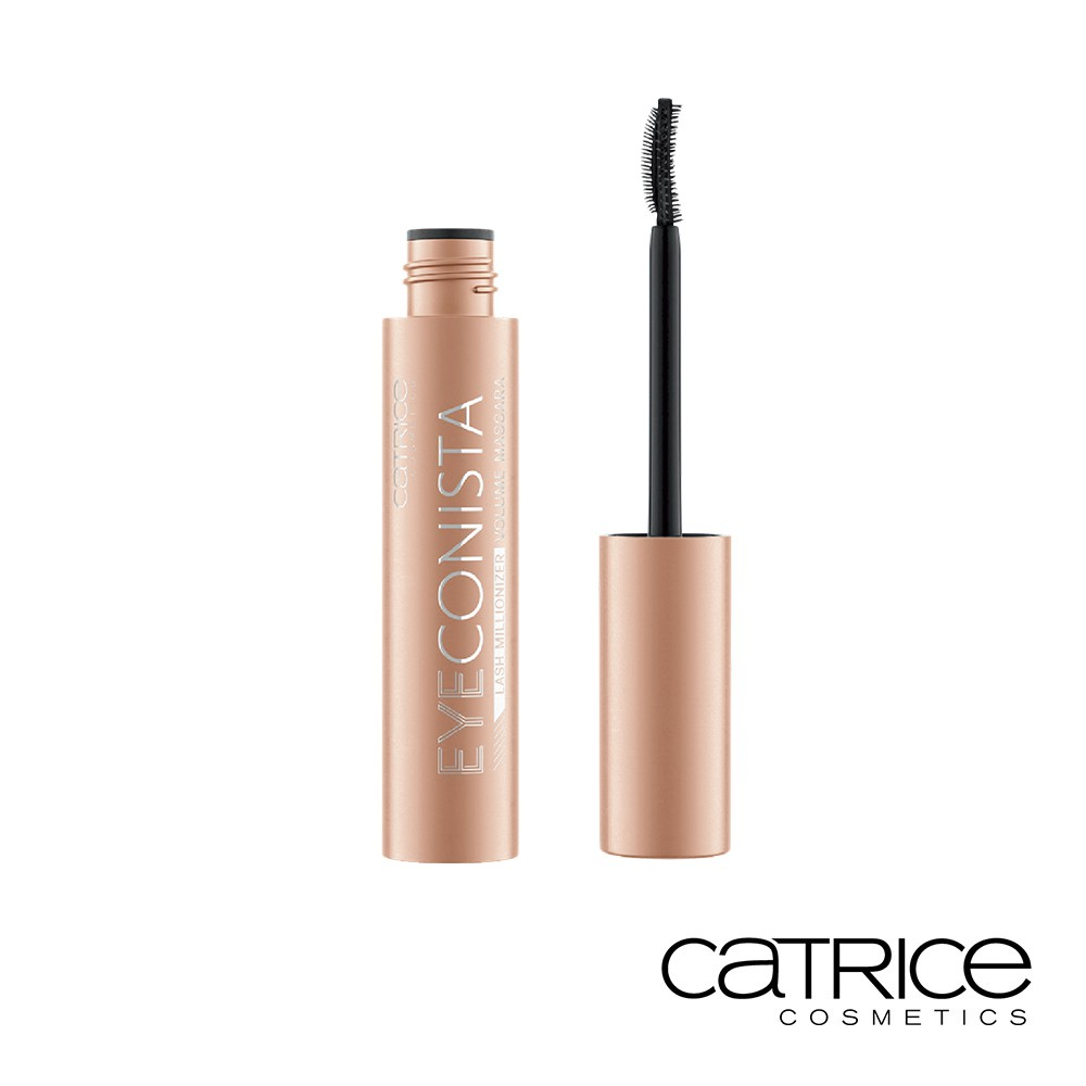 Catrice 卡翠絲 睫對搶眼濃密睫毛膏 黑色 11ml 濃纖維膏體 刷頭設計