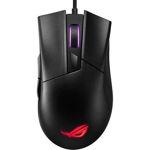 ASUS 華碩 ROG Gladius II Core 有線電競滑鼠【GAME休閒館】
