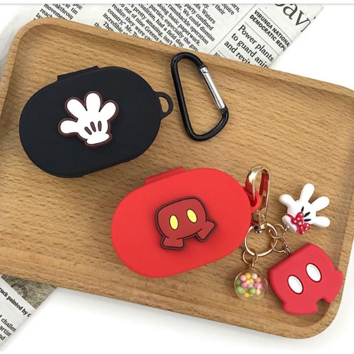 小米藍牙耳機Redmi AirDots2真無線耳機保護殼Earbuds超值版 airdots青春版保護套卡通米奇手