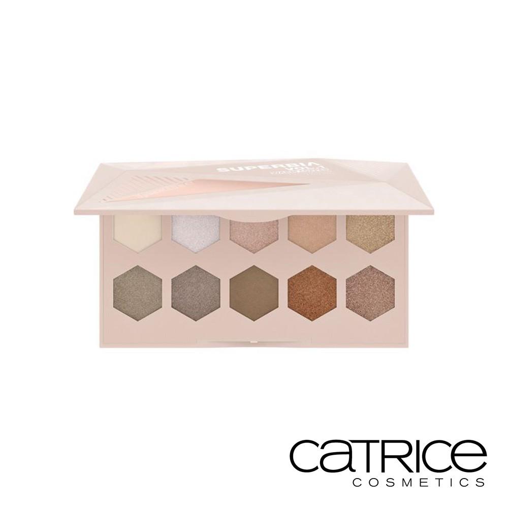Catrice 卡翠絲 時尚狂潮訂製 10色眼彩盤 夏日謬思 15g 熱銷 不飛粉 暖色調