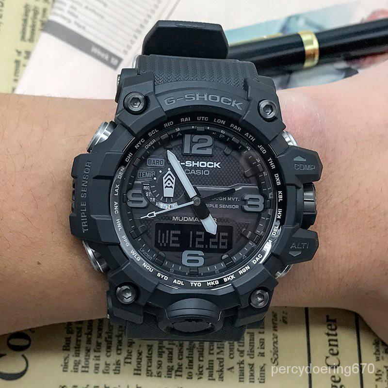 卡西歐手錶 GWG-1000-1A1/1A/1A3/GB-1A/4A 太陽能電波男錶大泥王