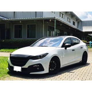 2015 Mazda3 4D 魂動馬三 頂級款 天窗換檔撥片 KS大包 雙出管 18吋鋁圈 桃園市