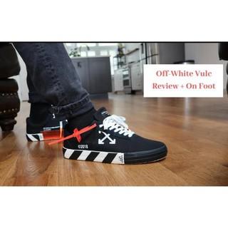 正品 Vans x OFF-WHITE Vulc Low Top 客定版 硫化帆布鞋板鞋 男女 時尚潮流 新北市