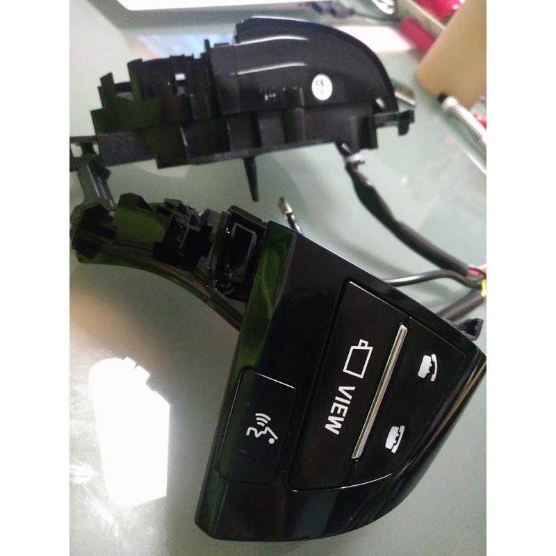 2006-2018年 PREVIA 專用 方向盤音響控制鍵 後期黑色
