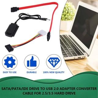 Ii Sata /  Pata /  Ide 驅動器到 Usb 2.0 適配器轉換器電纜,  用於 2.5 /  3.5 硬盤驅