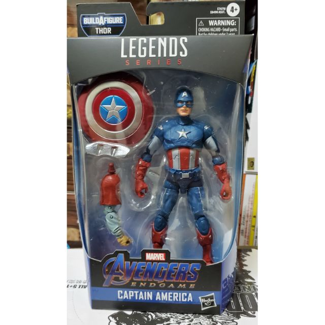 孩之寶 Marvel Legends 美國隊長 復仇者聯盟 終局之戰 含 肥宅索爾  BAF .全新現貨