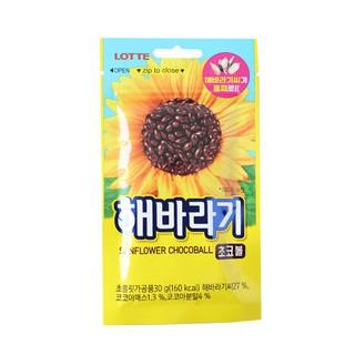 韓國 Lotte 樂天 葵花子巧克力 30g 葵瓜子 巧克力豆 臺中市