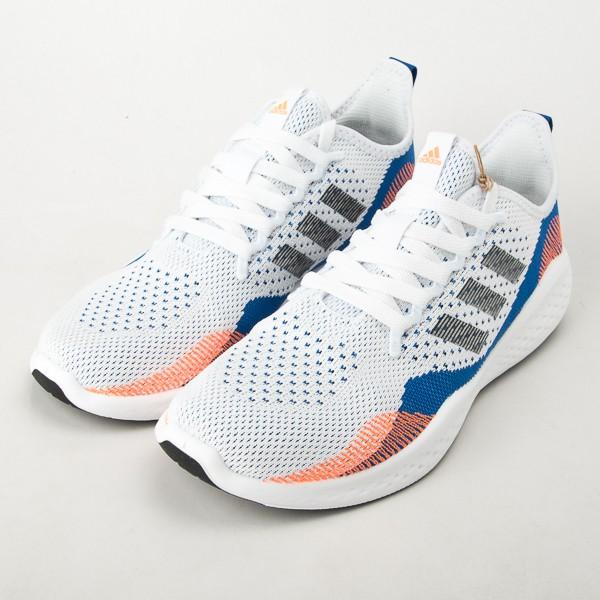 Adidas 愛迪達 FLUIDFLOW 2.0 運動鞋 跑鞋 白/深藍 女鞋 FY5959 現貨