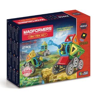 【韓國 Magformers 磁性建構片】Neon 迷你坦克 27pcs ACT06147 台北市