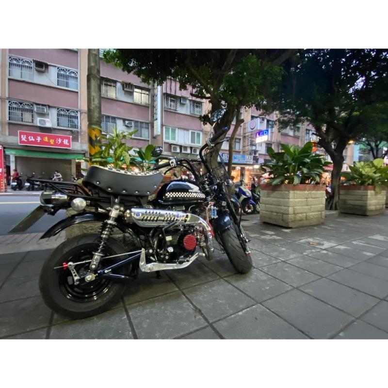 Honda Monkey50 黑方格旗 正牌