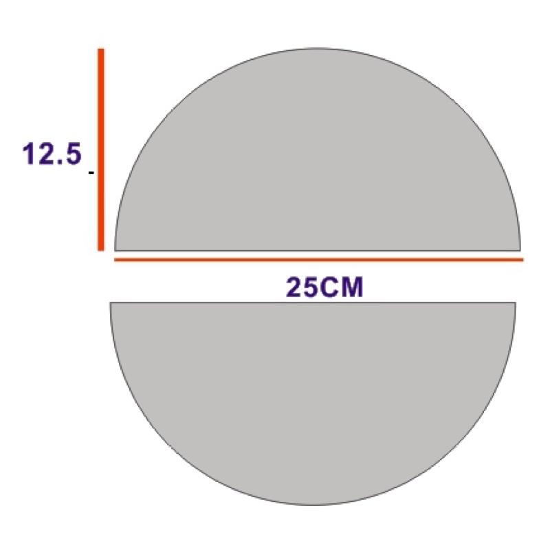 壓克力裁切半圓形,壓克力板