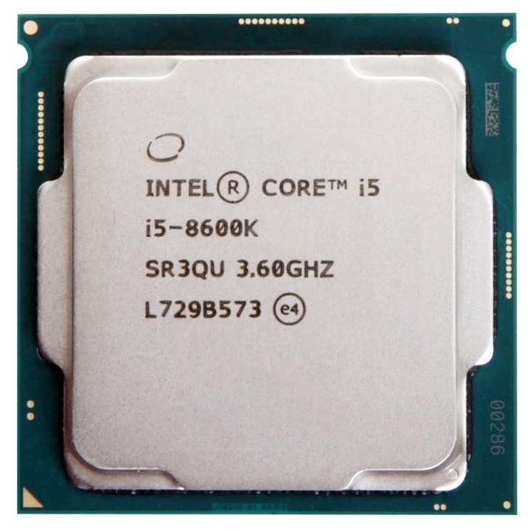 Intel Core i5 8600K 3.6GHz Six-Core Six-Thread CPU Processor
