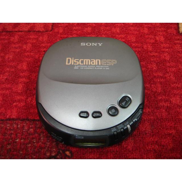 【完美作品】80%新,SONY Discman ESP D-245 CD隨身聽,簡易配件