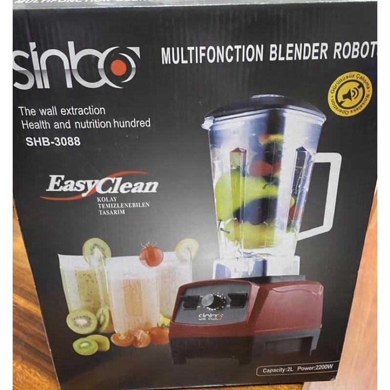 台灣現貨❤️全新 sinbo 220V 破壁機 果汁機 攪拌碎冰機 磨豆機大容量冰沙機 果汁機 養生料理機 磨豆機
