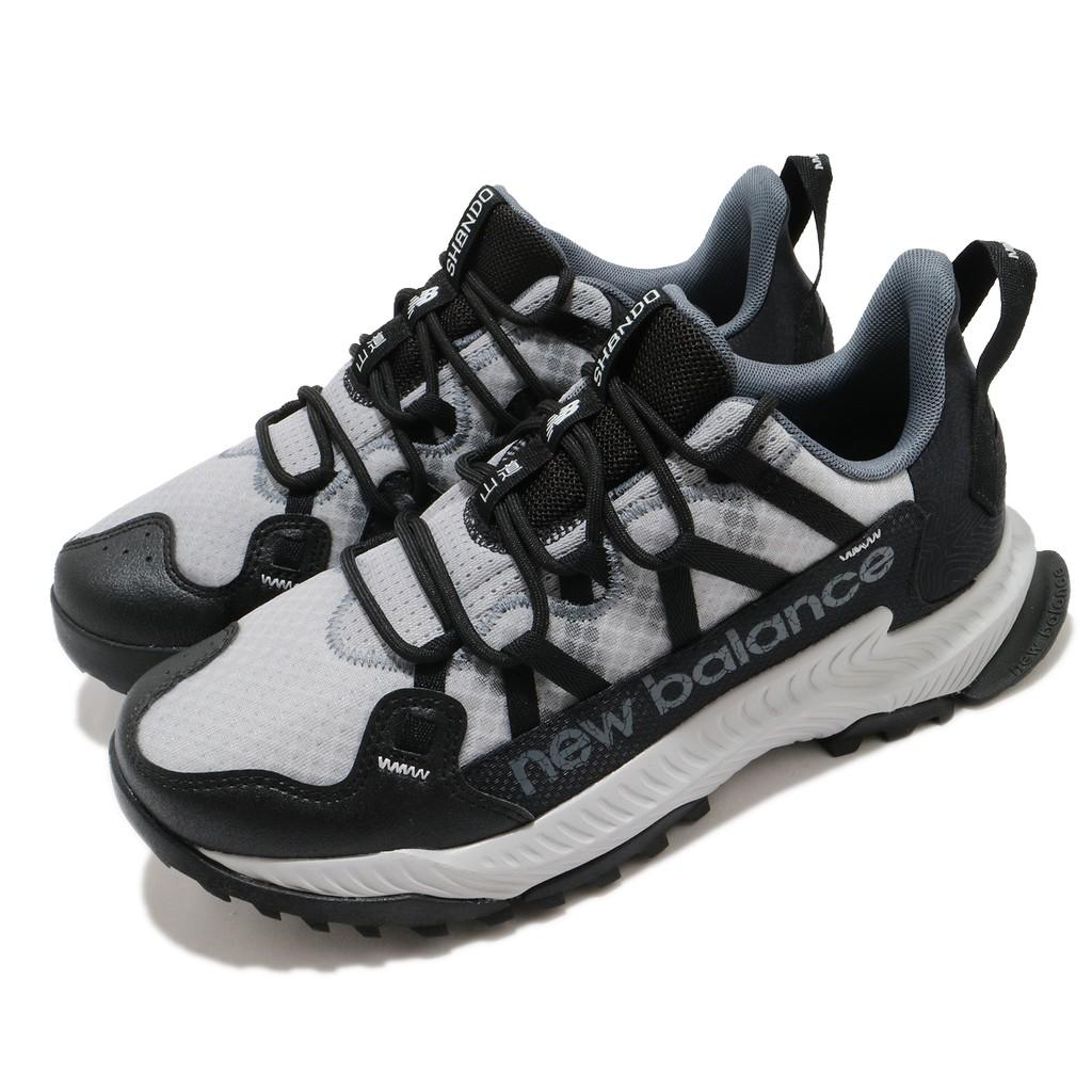 NEW BALANCE Shando Wide 男款 灰黑 越野慢跑鞋 寬楦 MTSHALK2E Sneakers542