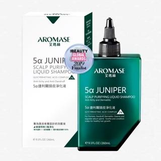 Aromase 艾瑪絲 5α捷利爾頭皮淨化液(2%)260ml /  5α高效控油洗髮精90mL 高雄市