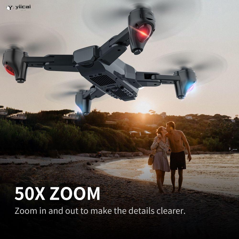 SG701 WiFi配備電子防抖廣角4K雙攝像頭高保真模式折疊臂無人機sg107升級【逸彩】