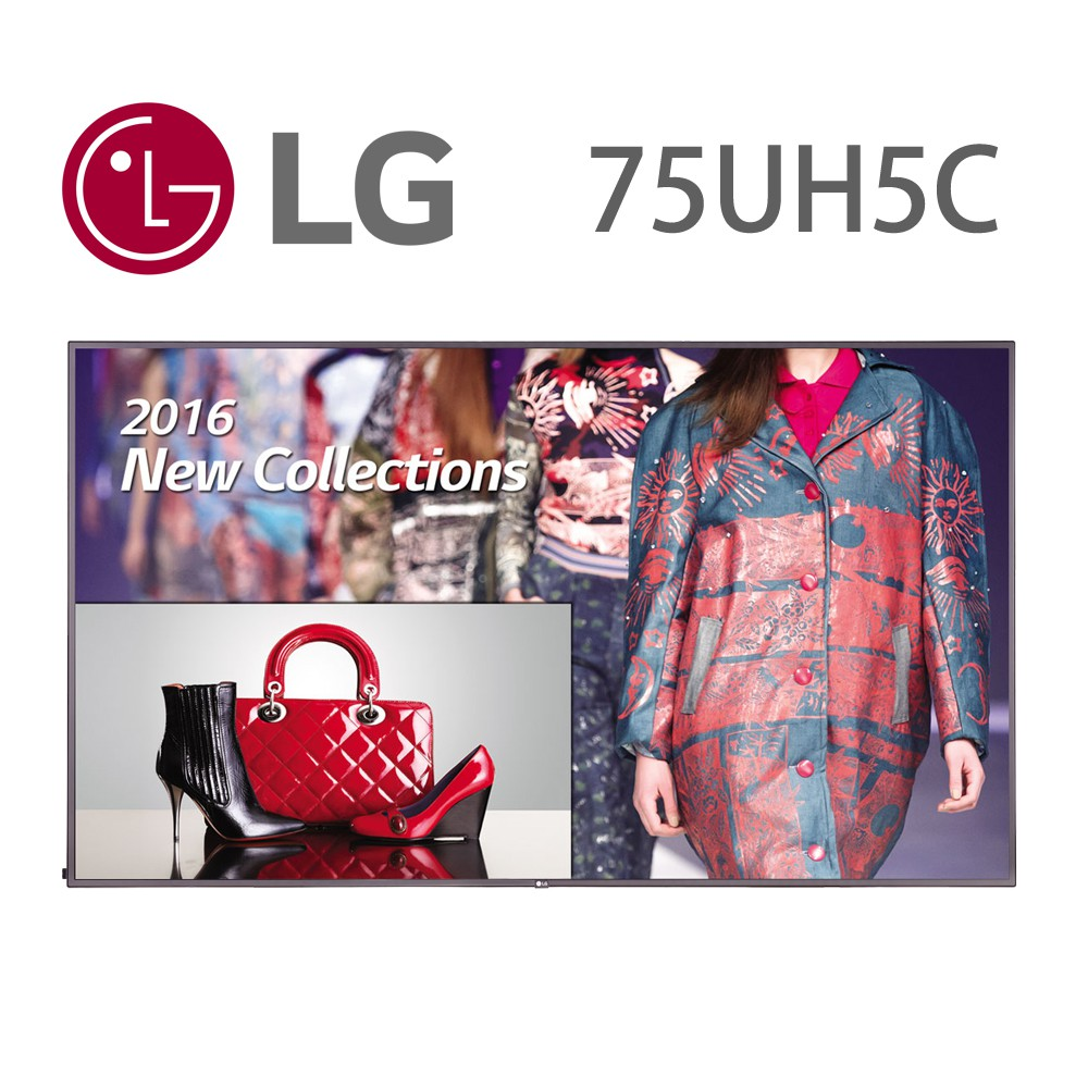 LG 樂金75吋4K超智慧商用顯示器75UH5C