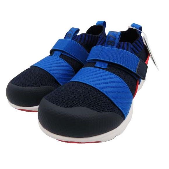 (2021/09現貨)日本Moonstar機能童鞋-HI系列襪套忍者鞋款(藍色)-(另有紅色/黑/粉 3色可選)