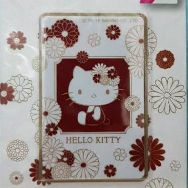 絕版品Hello kitty 和風悠遊卡白淨清雅款 KITTY白淨清雅悠遊卡 KITTY和風悠遊卡