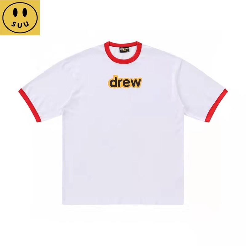 [Suu代購]DREW-house發泡字母短袖拼色T