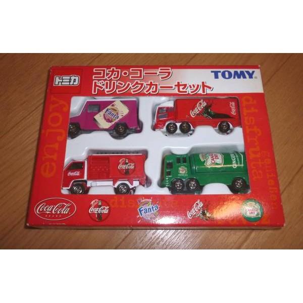 TAKARA TOMY TOMICA 可樂 飲料車 盒車 套組 FANTA