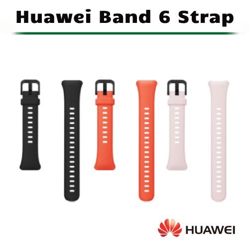 [原廠公司貨] HUAWEI Band 6 原廠錶帶 (橘色/黑色/粉色)