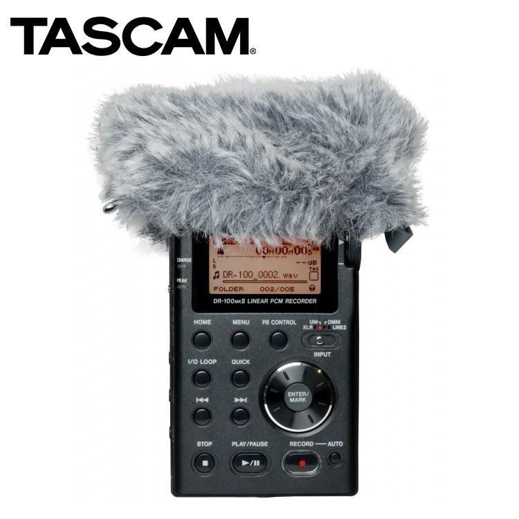 相機專家 TASCAM 達斯冠 WS-11 DR系列 數位錄音機 兔毛套 防風套 毛套 降噪 公司貨