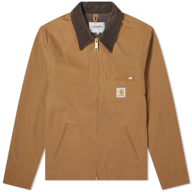 Carhartt WIP Detroit Jacket Hamilton brown 底特律 夾克 外套 土黃 沙色
