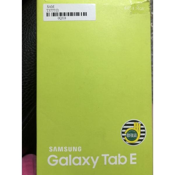Samsung tab E(16G)