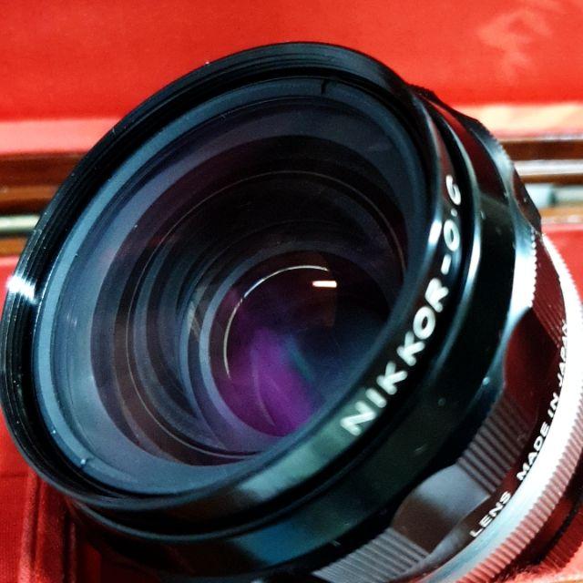 Nikon O.C. auto Non-ai 35mm F2 新品大光圈定焦廣角鏡