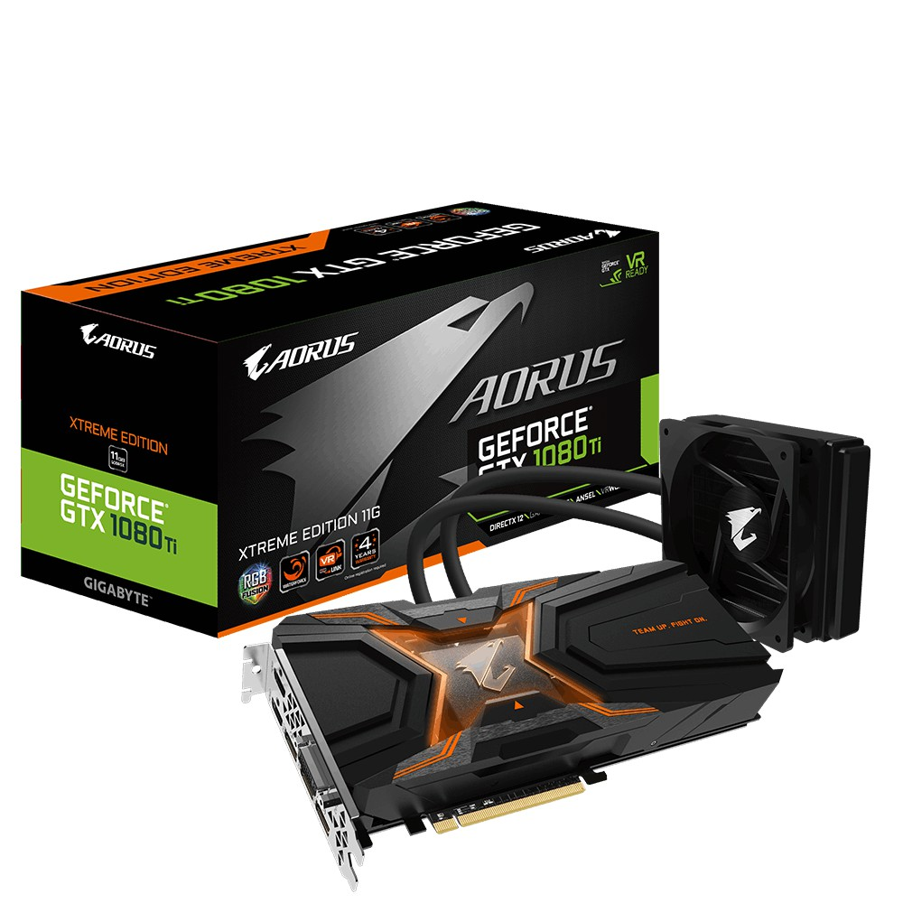 技嘉 AORUS GTX 1080Ti Waterforce Xtreme Edition 11G 一體式水冷 原廠備品