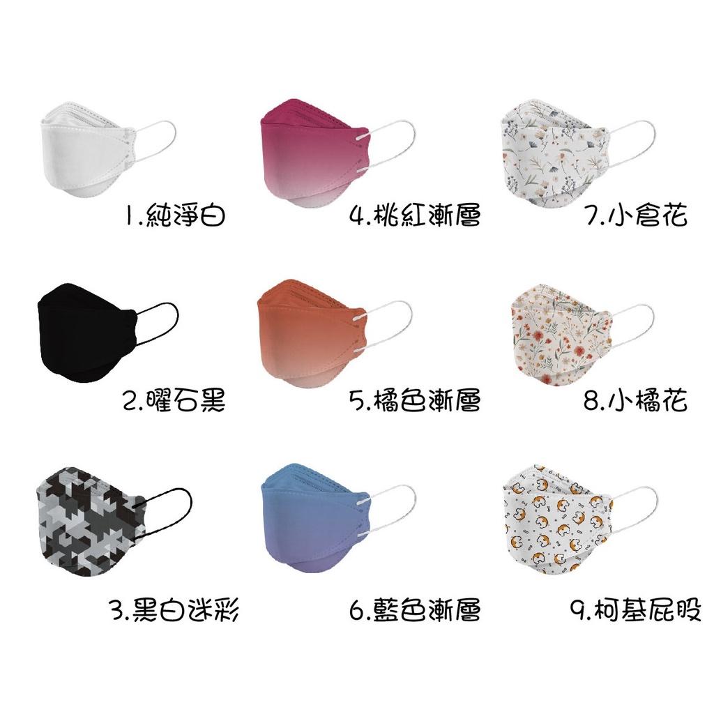 韓版KF94立體四層口罩-宏瑋製造(現貨)