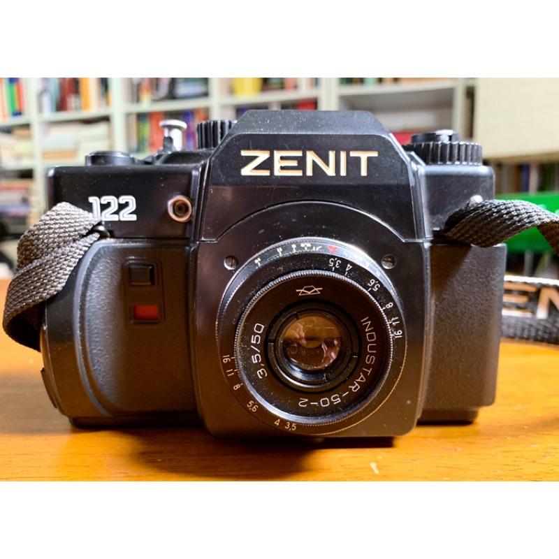 Zenit 122 相機 + Industar 50-2