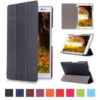 華碩Z380KL手機殼,8英寸超薄蓋+ PU皮革自動睡眠/ 喚醒鋼化玻璃,適用於2015年華碩[Zenpad 8.0] Z