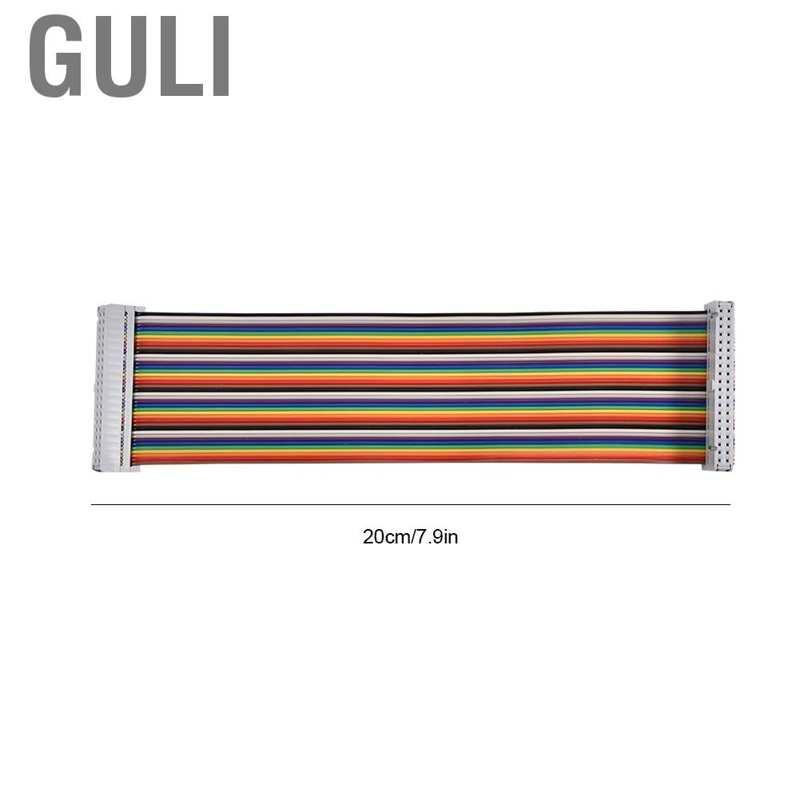 Guli 適用於Banana Pi Raspberry的40Pin GPIO帶狀扁平適配器電纜線