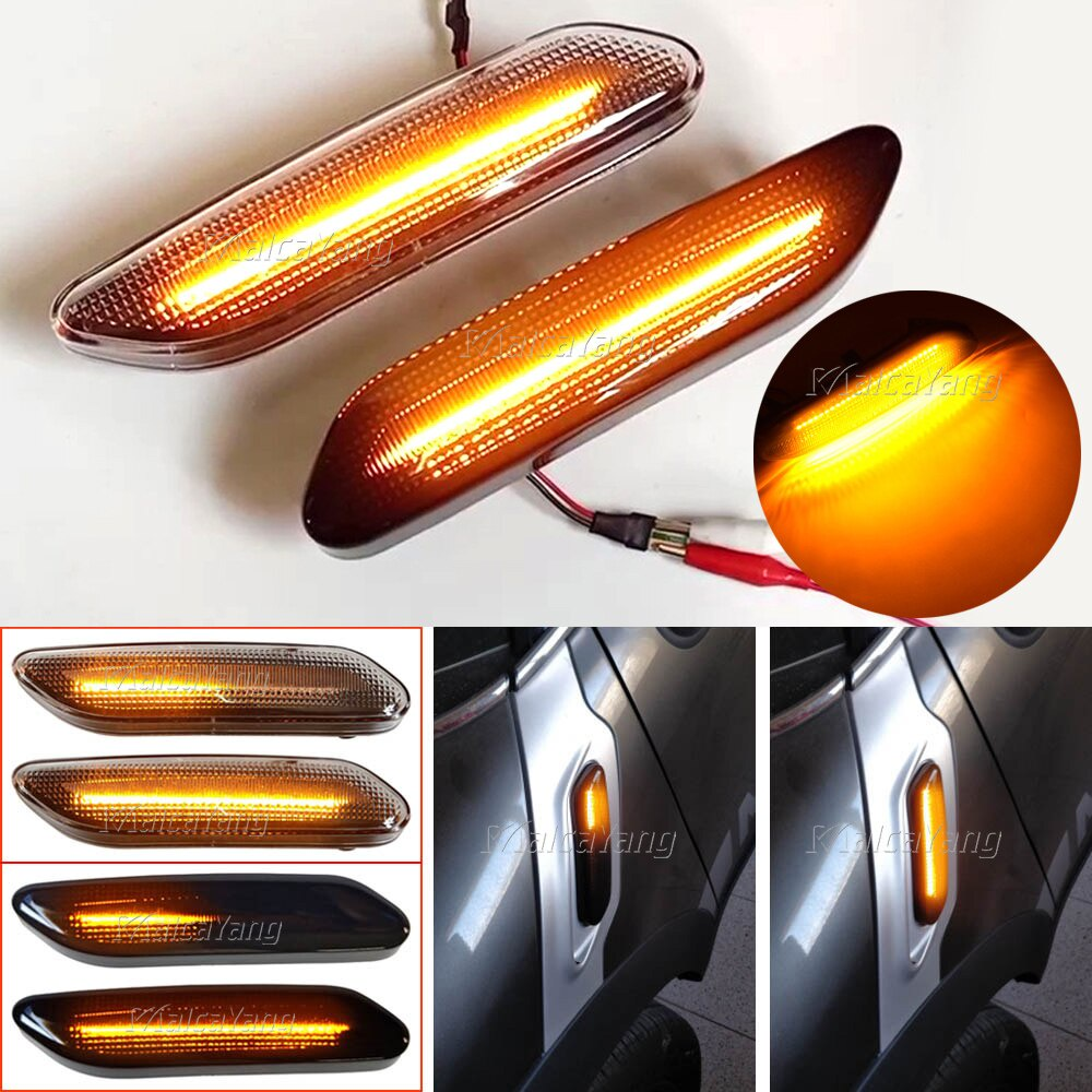 寶馬 Mini Cooper R60 R61 側標誌燈動態 LED 流水信號燈轉向燈閃爍指示燈