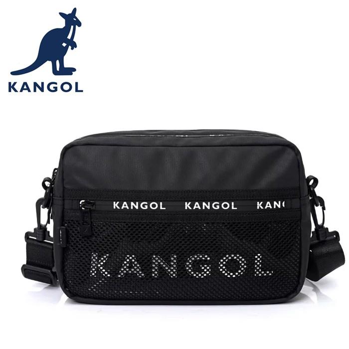 KANGOL 英國袋鼠 側背包/斜背包 6055302620 黑色