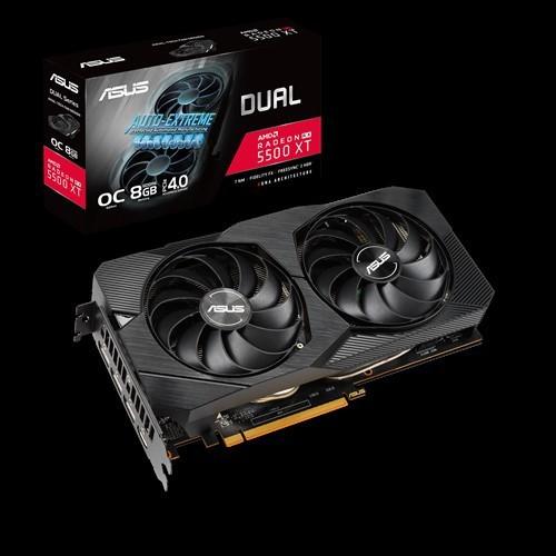 華碩 DUAL-RX5500XT-O8G-EVO 僅次於 GTX1660 SUPER效能 低價格高效能 C/P首選