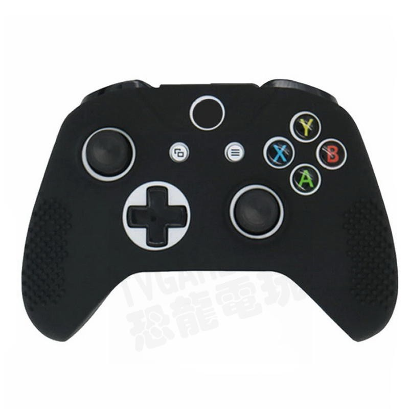 XBOXONE XBOX ONE 無線控制器 手把 把手 專用 果凍套 矽膠套 保護套 SILICON 顆粒防滑 黑色