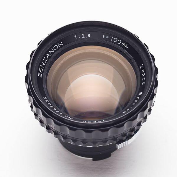 『阿哲的Bronica筆記』Bronica EC/S2專用 Zenzanon 100mm f2.8 極致的大光圈的餅乾鏡