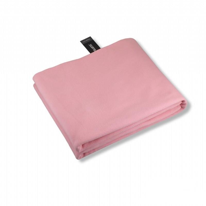 SNOWTRAVEL雪之旅 STAR017-PIN  [ POLARTEC透氣保暖旅用毛毯 ] 粉紅