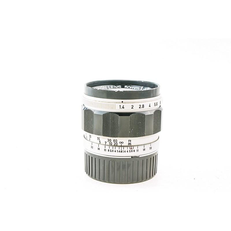 ★☆洪爺?銀鹽專賣★☆ CANON 50/1.4 LTM大光圈標準鏡 L39 LTM接環 雙高斯