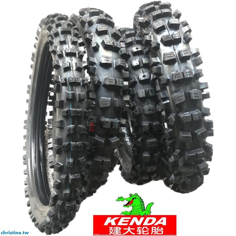 建大越野摩托車輪胎高齒大花100/90-12-14-17-18-19-21深齒內外胎