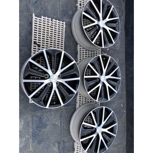 現代汽車Tucson 17吋原廠鋁圈一組4個5孔114.3,收5倍卷